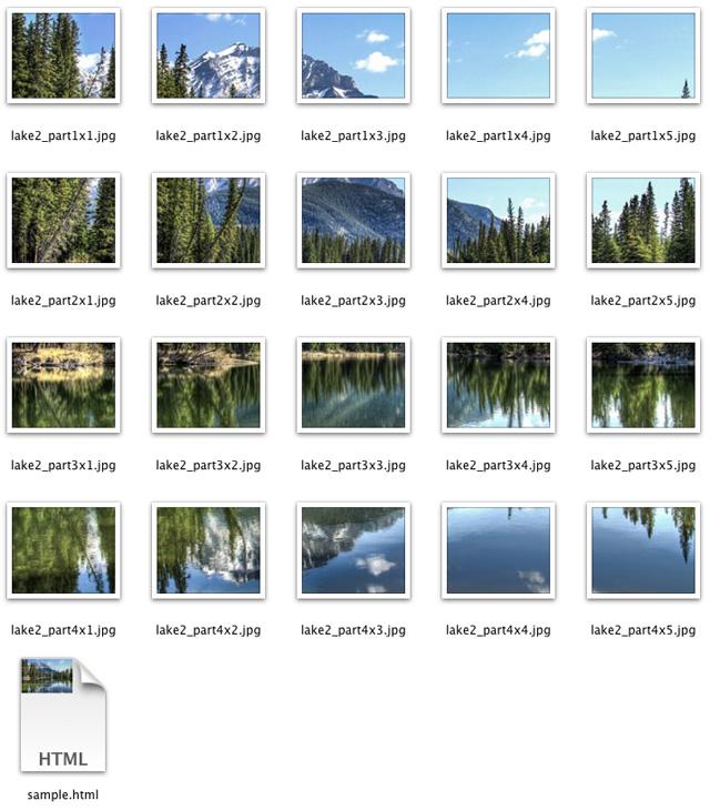 Online Image Splitter 2