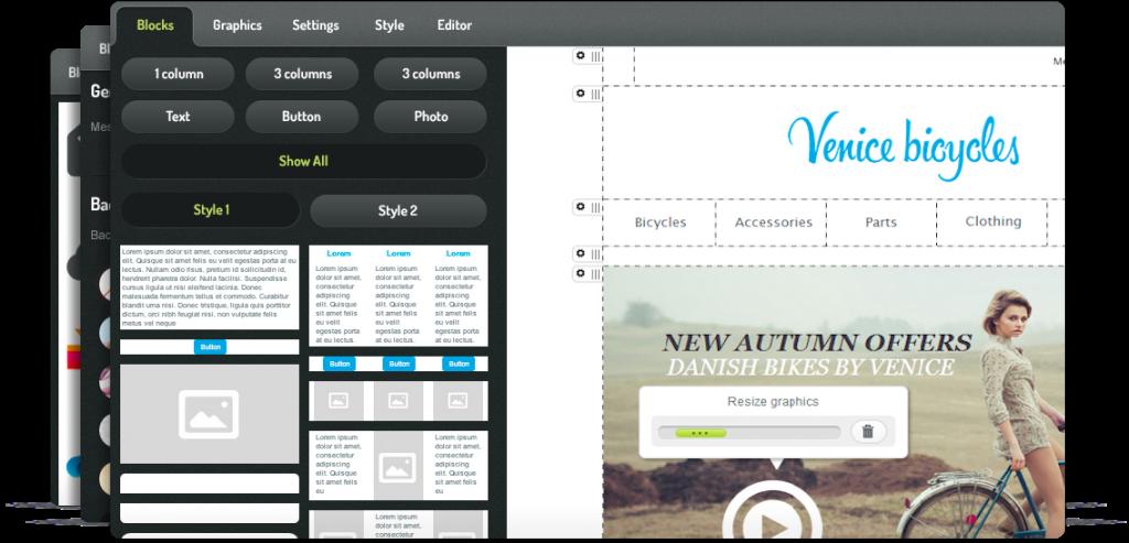 Intuitive template editor