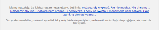 Newsletter sklepu Koszulkowo.com