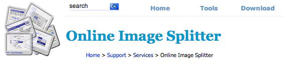Online Image Splitter