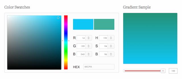 CSS Gradient Generator