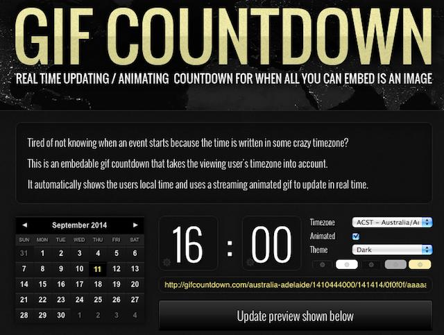 Gif Countdown