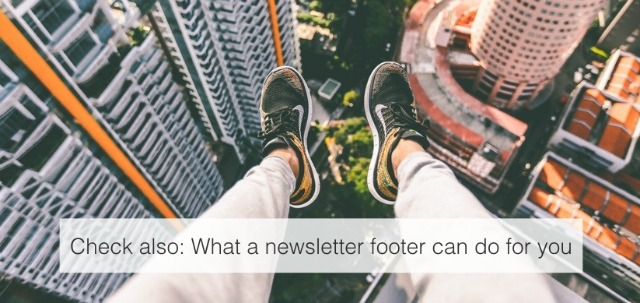 how to make a footer in html