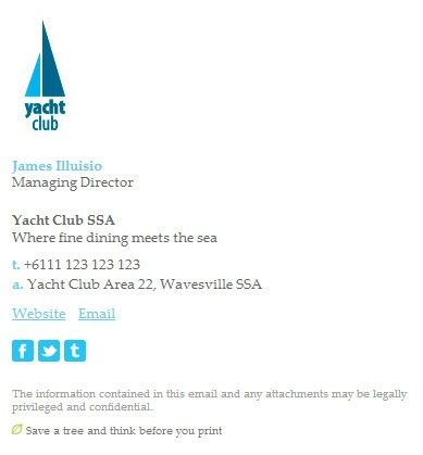 8 tips for creating a perfect email signature email signature yacht club fbccfo