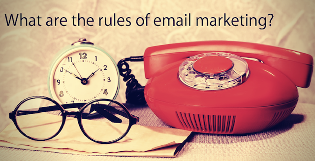 rules of email marketing