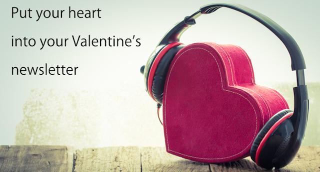 newsletter ideas for Valentine's Day
