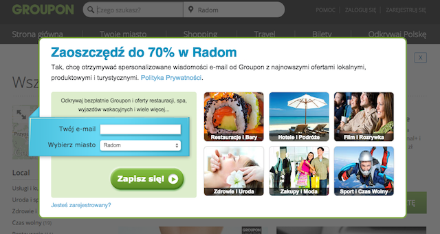 Growth Hacking groupon.pl