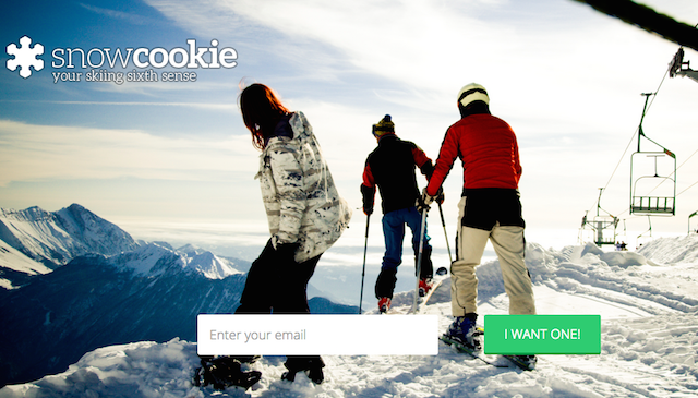 Landing page: Snowcookie