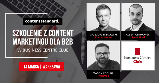 szkolenie content marketing
