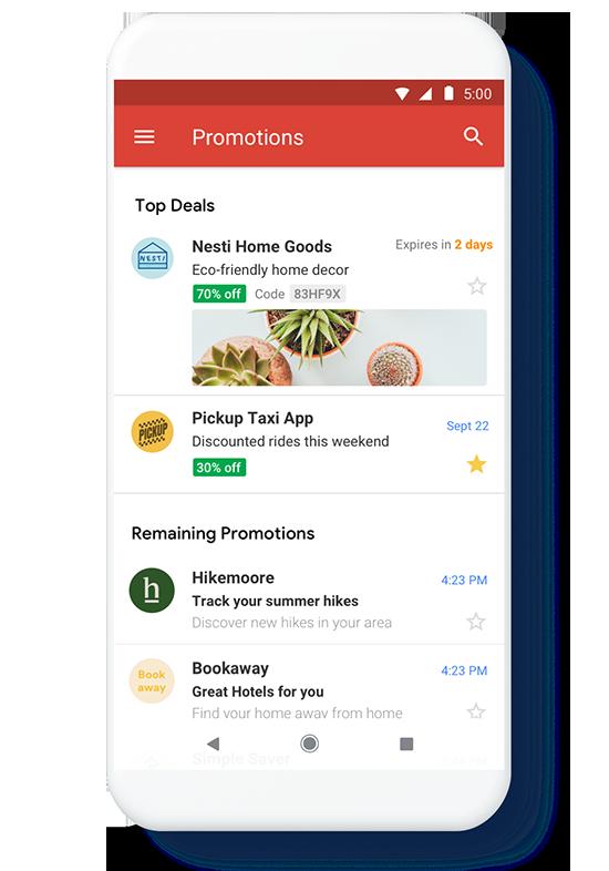 Jak sklep internetowy może wykorzystać Gmail Promotions Annotation
